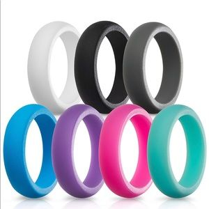 Women's Silicone Wedding Bands